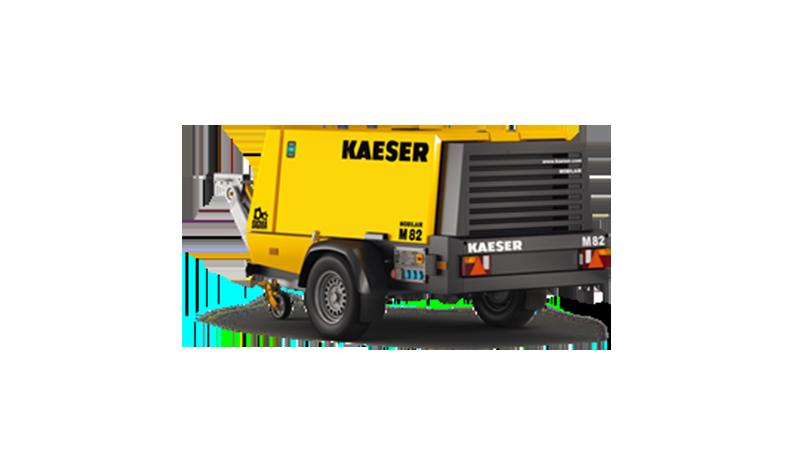 Compresseur KAEZER 5000 litres - 5 m3/min. M50