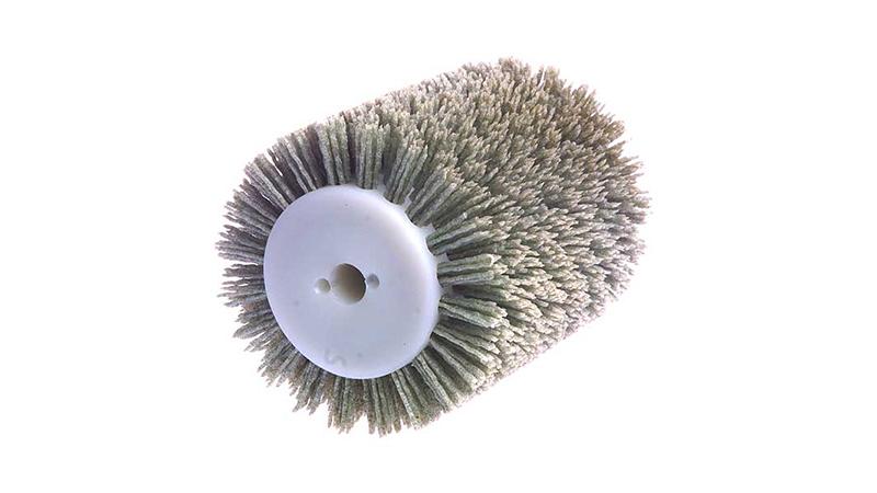 Brosse nylon abrasif