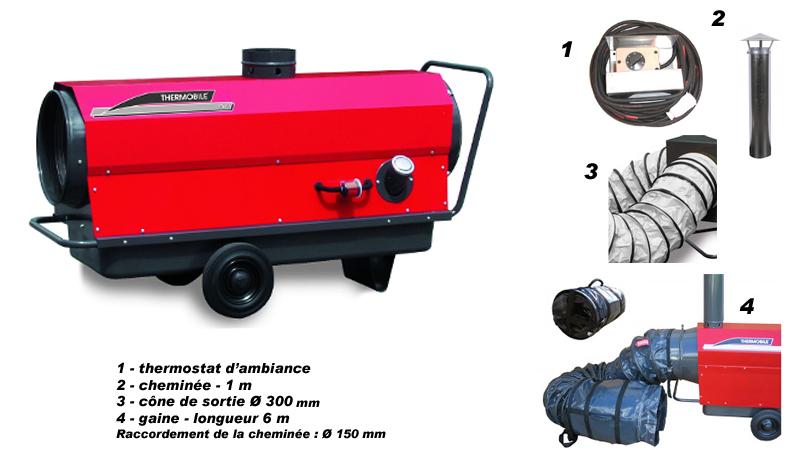 Chauffage mobile Thermobile ITA 35